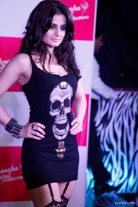 Ameesha Patel At Launch Event Of Movie Desi Magic
