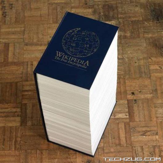 Wikipedia In Hard Cover Version