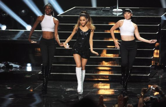 Ariana Grande Performs At iHeartRadio Music Awards