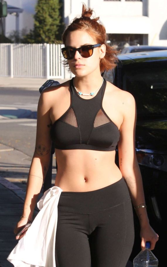 Tallulah Willis Leaving The Gym in Beverly Hills