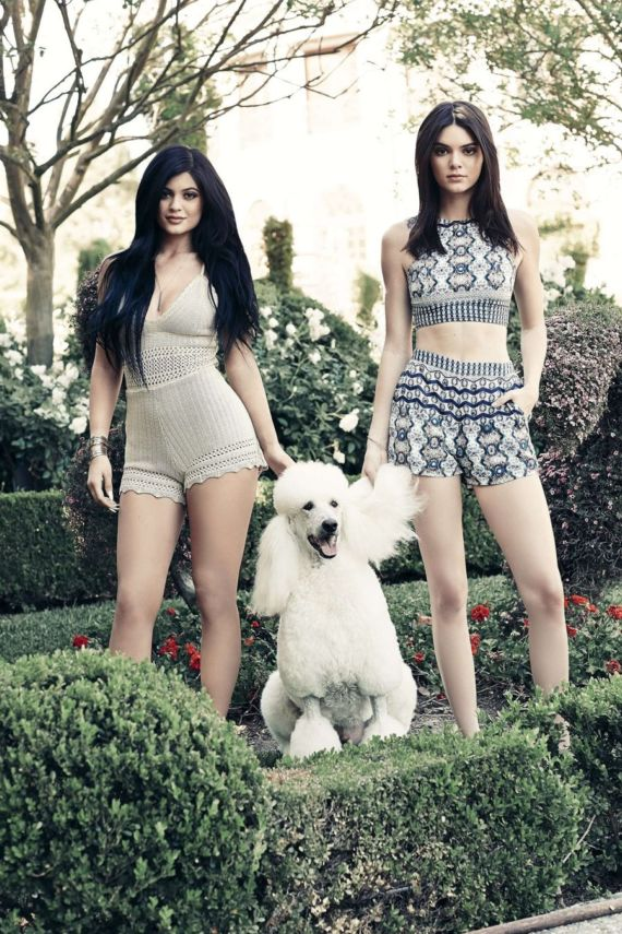 Kendall Jenner and Kylie Jenner In Latest Shoot