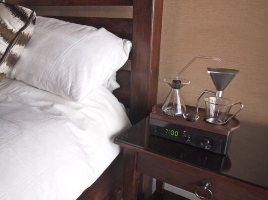 Alarm Clock That Makes You Coffee