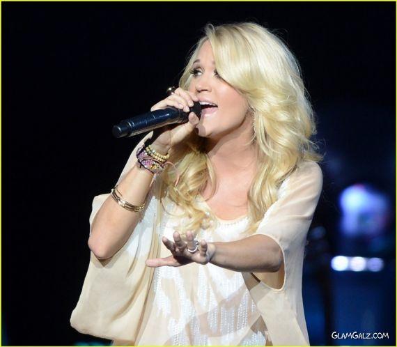 Carrie Underwood Performing At Royal Albert Hall