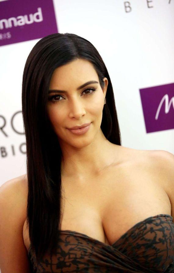 Miss Kardashian Promoting Beauty Hair Line