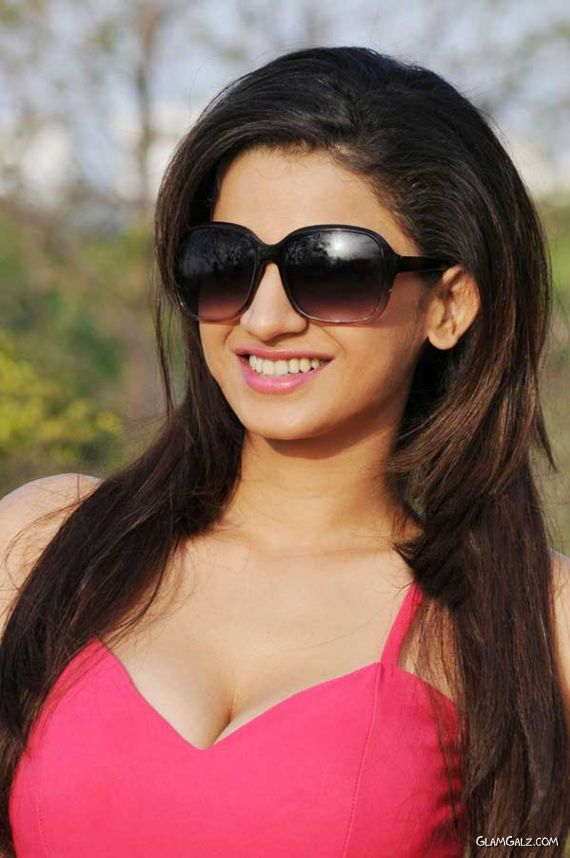 Ananya's Awesome Photoshoot In Pink