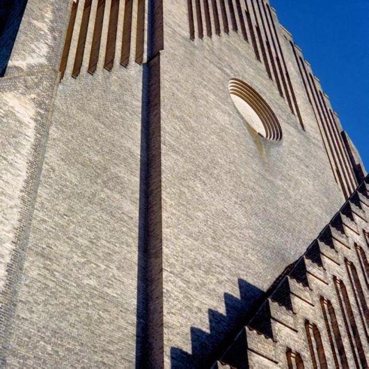 The Grundtvig's Church In Copenhagen, Denmark