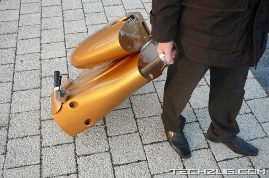 Amazing Compact Folding Scooter