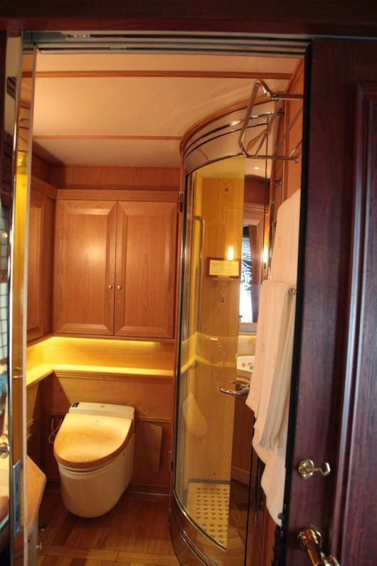 The Seven Stars Luxury Train In Kyushu, Japan