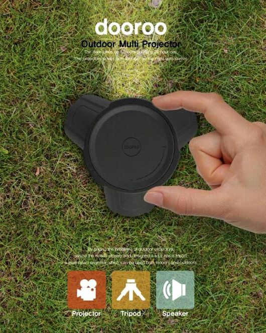 Reconnect The Nature With Outdoor Multi Projector
