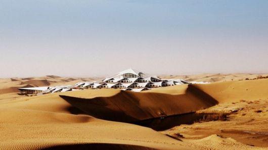 The Xiangshawan Desert Lotus Hotel