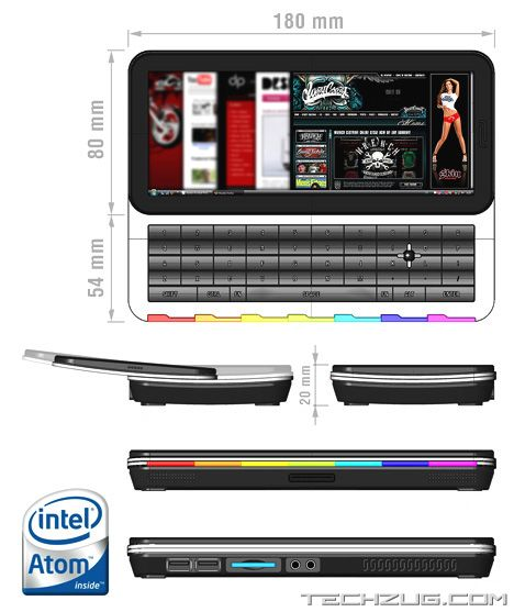 Intel Mobile Internet Device for Internet Access