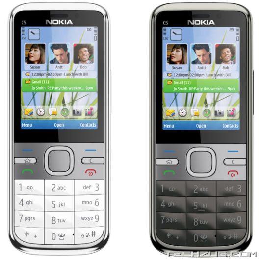 The New Nokia C5 Phone