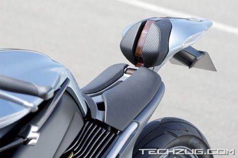 Suzuki Hydrogen Fuel Cell Motorcycle