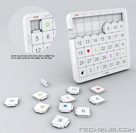 Highly Innovative Calendar Designs