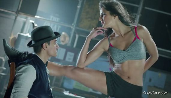 Katrina Kaif Goes Kamli For Dhoom 3