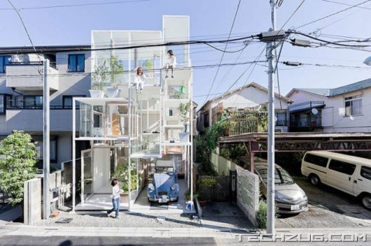 A Completely Transparent House