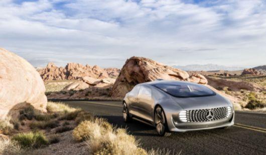 The Futuristic Self Driving Car From Mercedez Benz