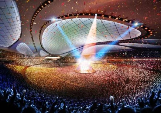First Look At The 2020 Olympic Stadium