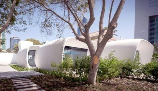 First 3D Printed Office Building In The World