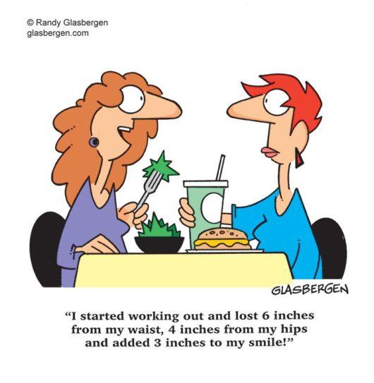 Hilarious Cartoons On Weight Loss Funzug Com