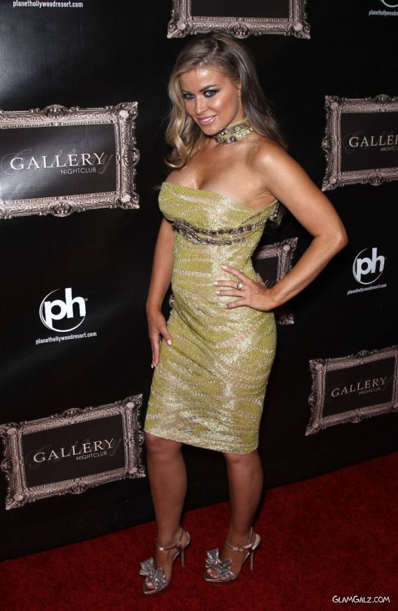 Carmen Electra At The Gallery Night Club