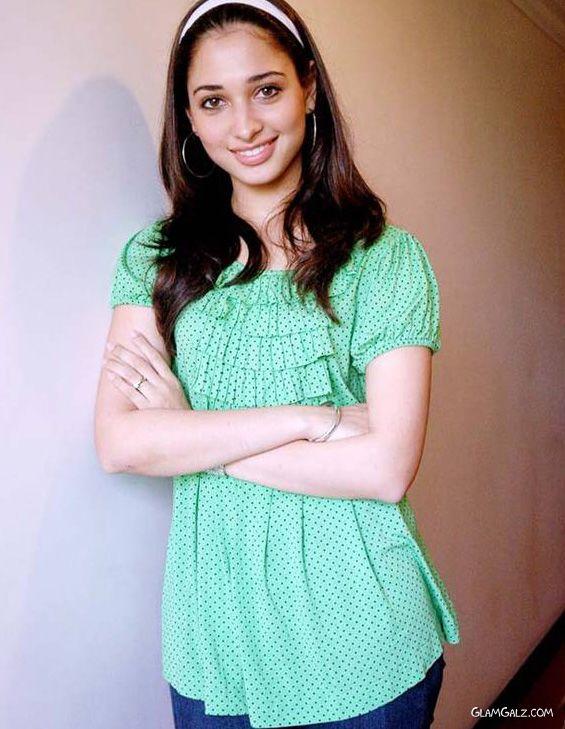 Pretty Tamanna Bhatia At The Hotel