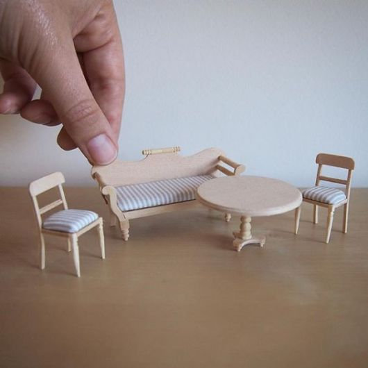 Man Quit His Job As A Lawyer To Make Tiny furniture