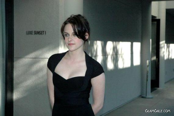 Lovely Kristen Stewart During An Interview