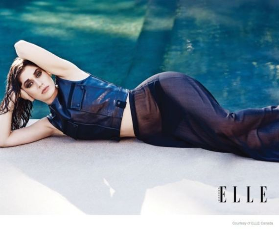Lizzy Caplan Photoshoot For Elle Magazine Canada