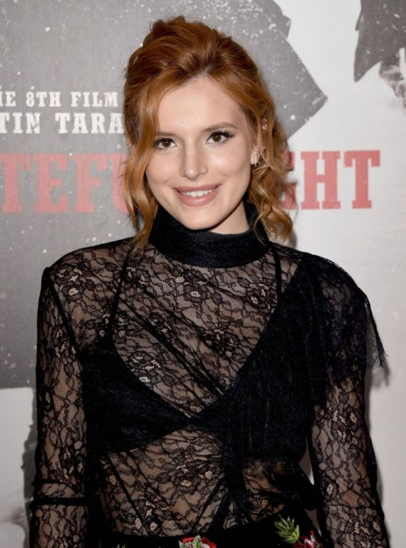 Bella Thorne At The Hateful Eight Premiere