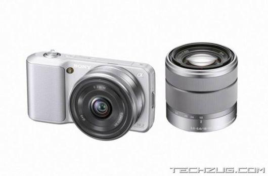 Sony NEX-5 and NEX-3 Digicams
