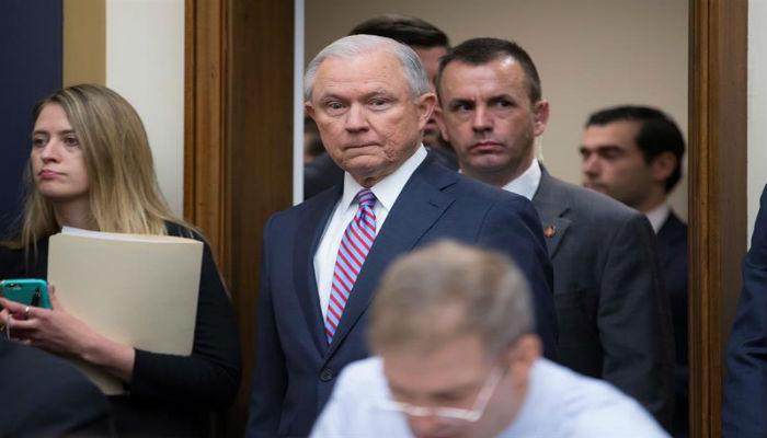 Fiscal general de Estados Unidos, Jeff Sessions