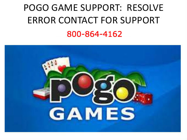 Error while playing Pogo game