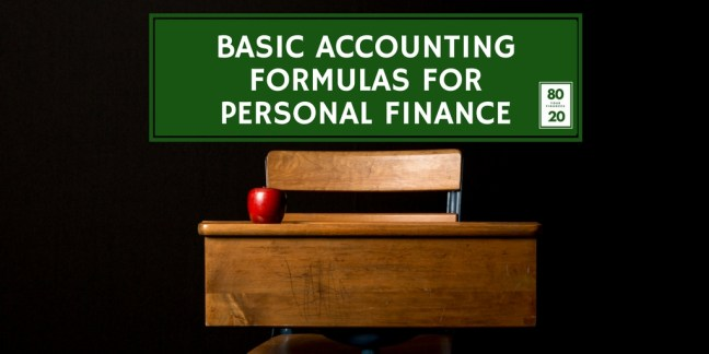 Basic accounting formulas for your personal finances