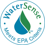 Look for the WaterSense logo on low flow faucets