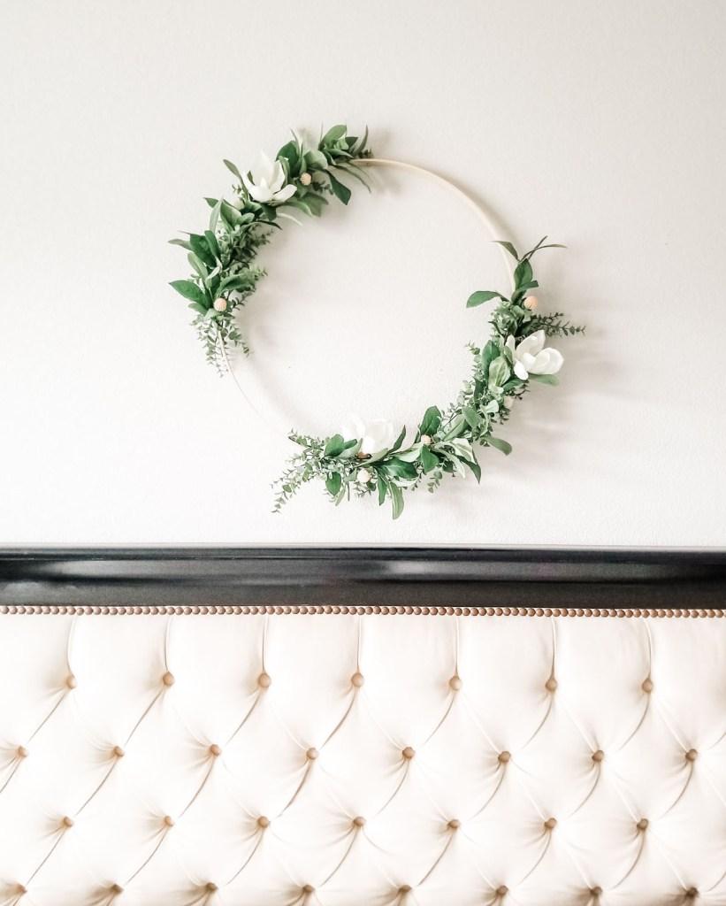 simple modern farmhouse wreath
