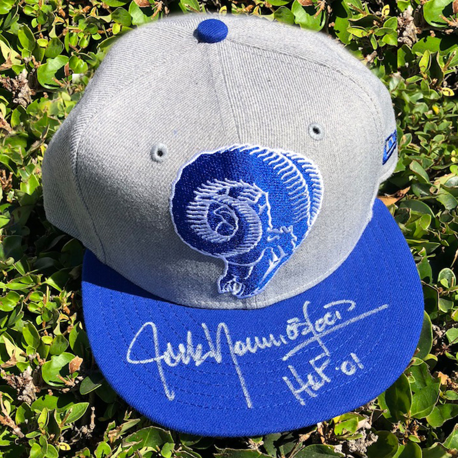 Jack Youngblood Rams Hat