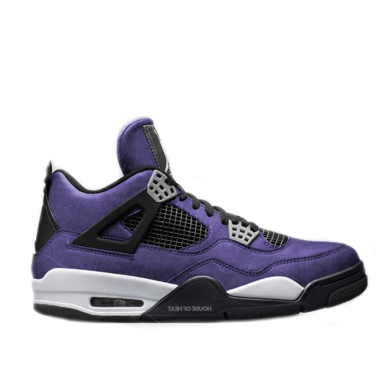 Travis Scott Purple 4's
