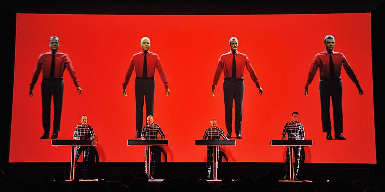 Kraftwerk (Photo by Mike Coppola/Getty Images)