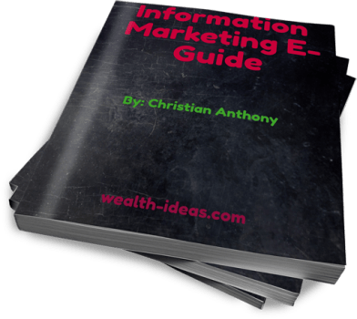 information marketing ebook
