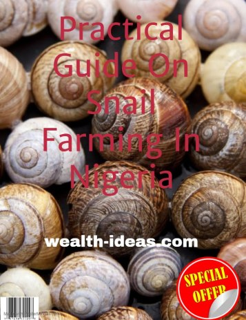 snail farming ebook