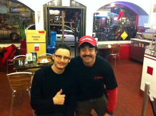 Me and the owner