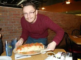 Me and the giant burrito
