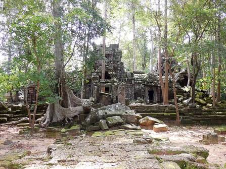The ruins of Ta Nei