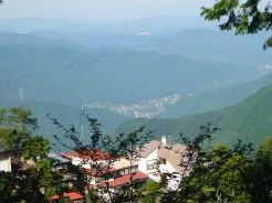 Mitake-Village-and-Distant-City