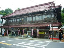Traditional Nikko store