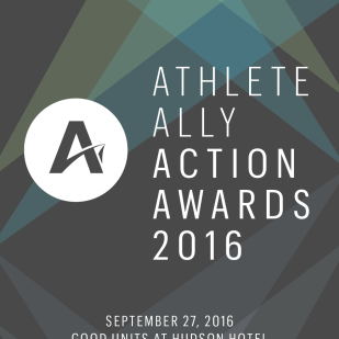 Event Branding and Invitation Package for Athlete Ally
