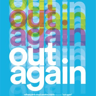 "Poster for Robin Cloud's ""Out Again"""
