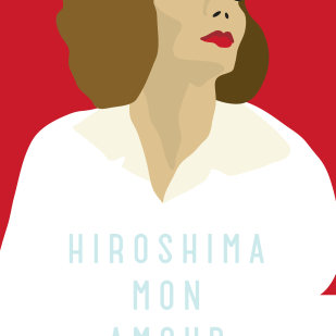 "Poster for ""Hiroshima, Mon Amour"""