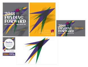 Funding Forward 2018 Branding Materials